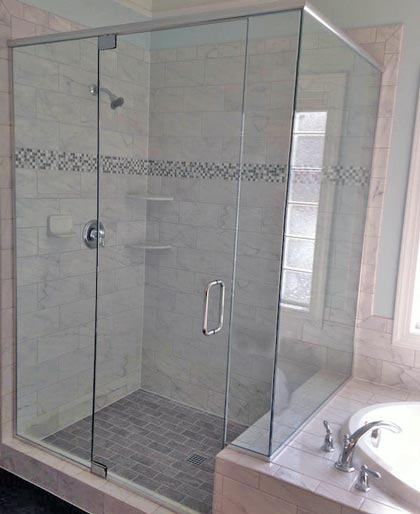Bathroom Shower Glass Door Enclosure